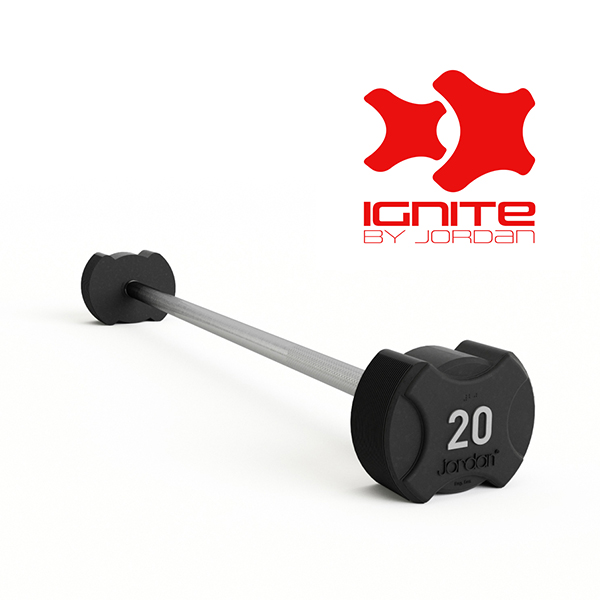 Ignite Premium Rubber Barbells