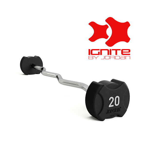 Ignite Rubber Barbells - Curl Bars