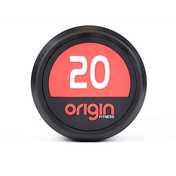 Origin Pro Rubber Dumbbells - Pairs